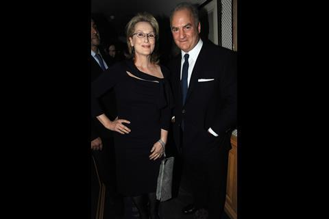 Meryl Streep and Charles Finch